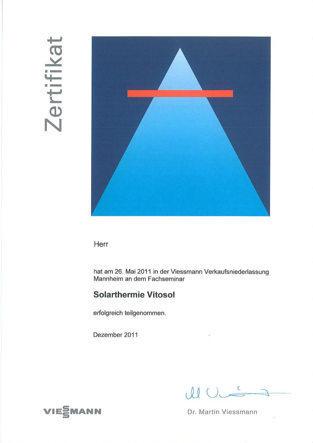 Solarthermie Vitosol